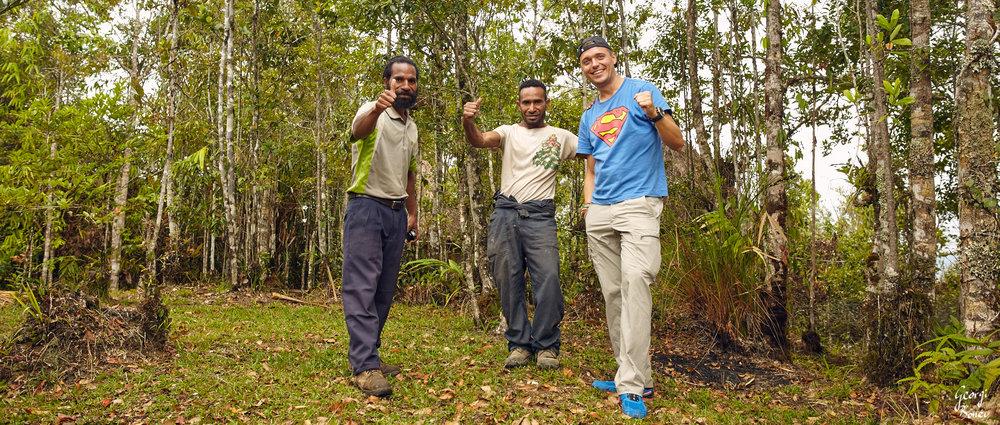 Himuya, Kai & Georgi, Koroba, PNG