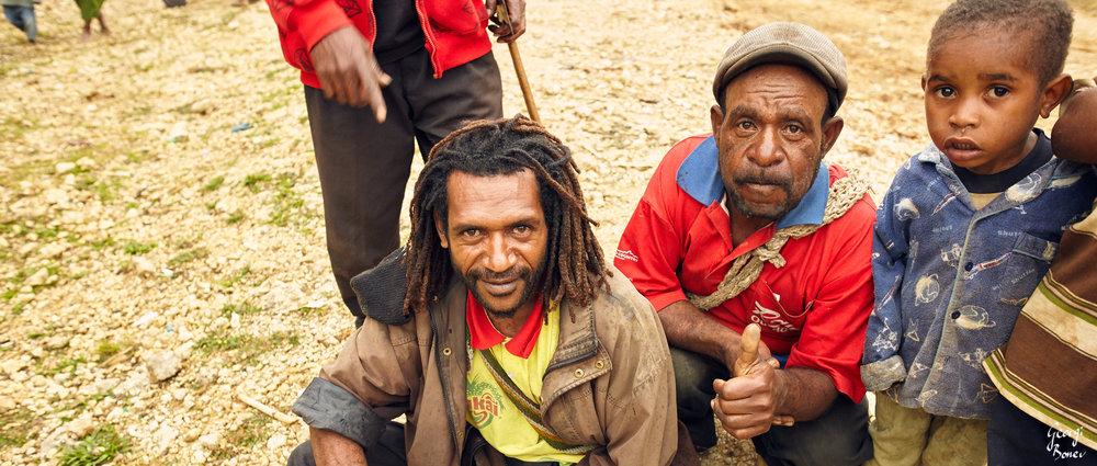 Koroba vilagers, PNG