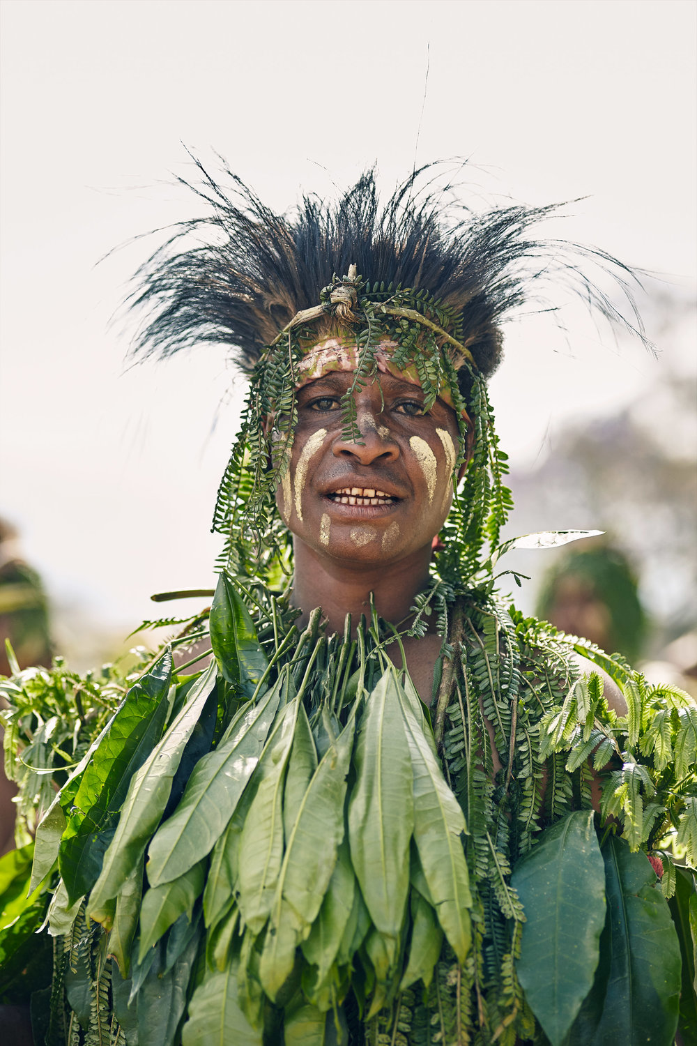 YONKI TRIBE WOMAN, PAPUA NEW GUINEA