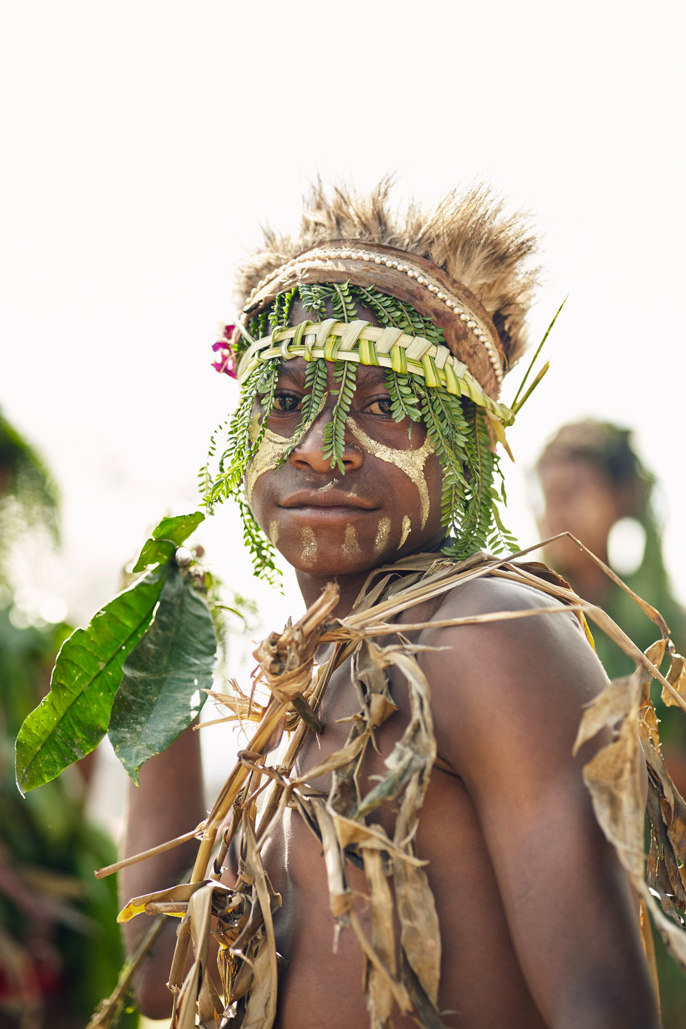 YONKI TRIBE BOY, PAPUA NEW GUINEA