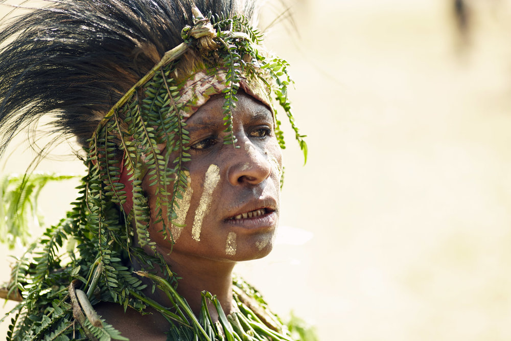 YONKI WOMAN, PAPUA NEW GUINEA