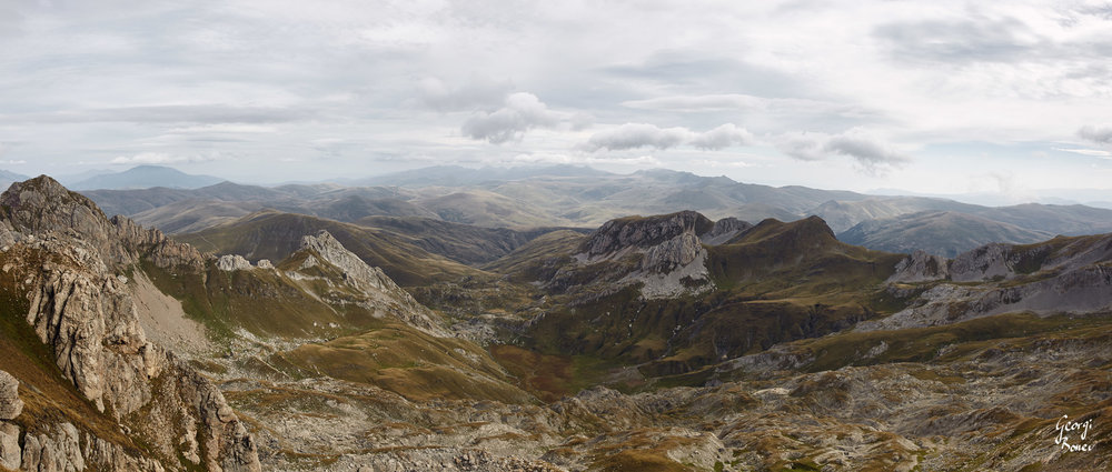 the view from Golem Korab Peak, Mavrovo National Park, Macedonia