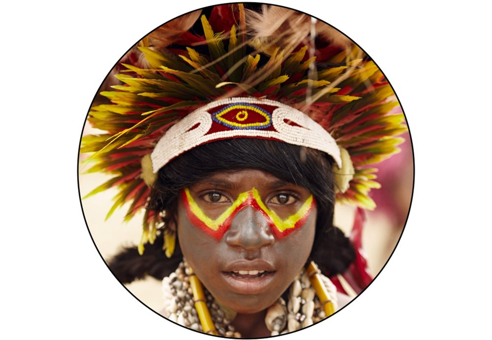 DUMANIGU BOY IN PAPUA NEW GUINEA