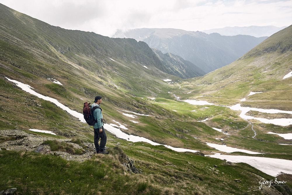 Georgi at Fagaras Mountain, Romania