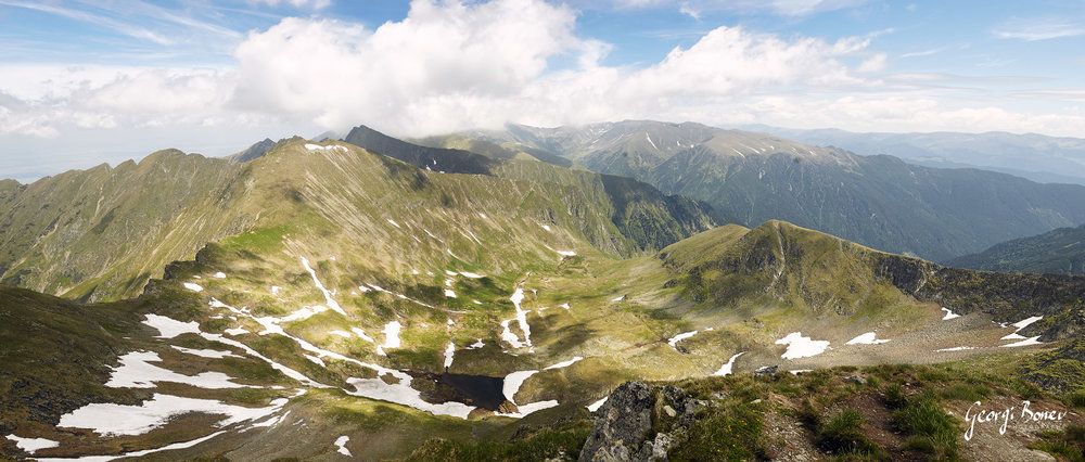 Fagaras Mountain, Romania
