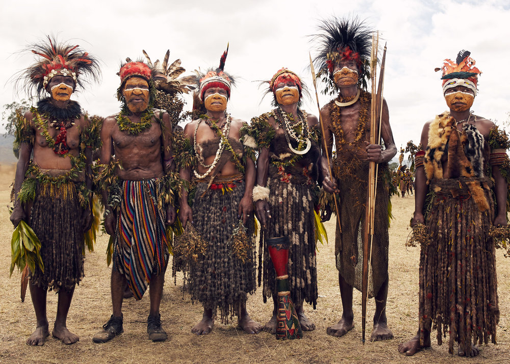 ARANGO TRIBE IN PAPUA NEW GUINEA