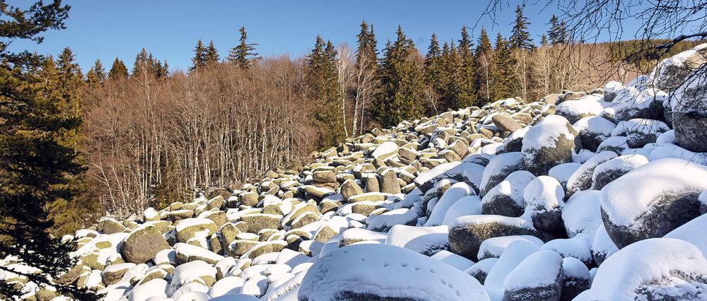 Stone River at Vitosha Mountain, Bulgaria, 2018