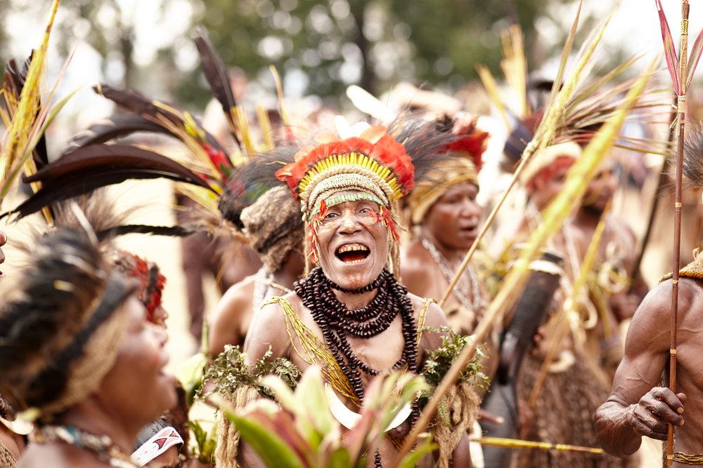 Wotose tribe woman, Papua New Guinea