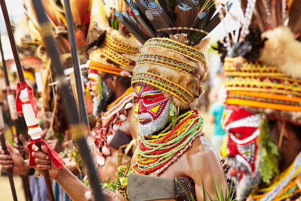 Kuruwari warrior, Papua New Guinea