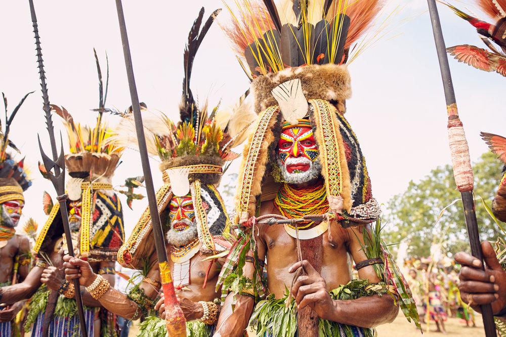 Kuruwari warriors, Papua New Guinea