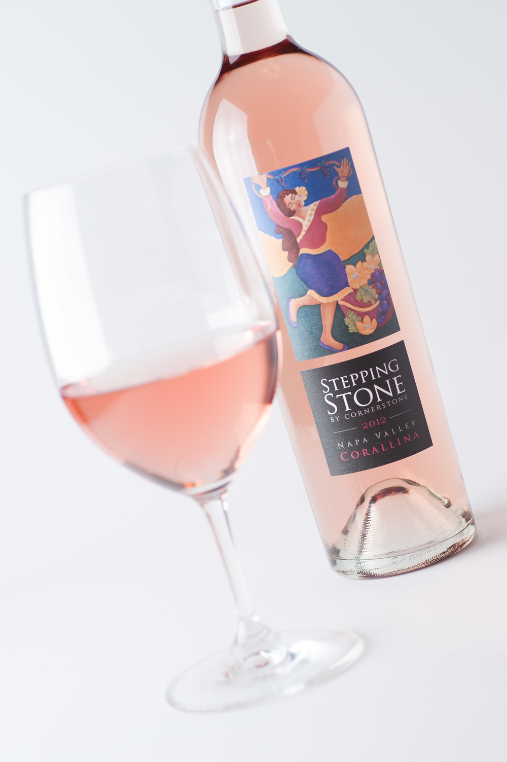 2012 Stepping Stone by Cornerstone Corallina Napa Valley Syrah Rosé