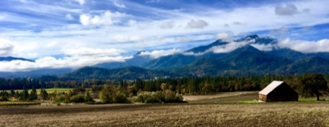 The Applegate Valley in Southern Oregon