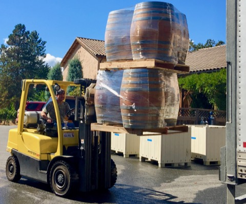 """New"" old barrels arrive for harvest"