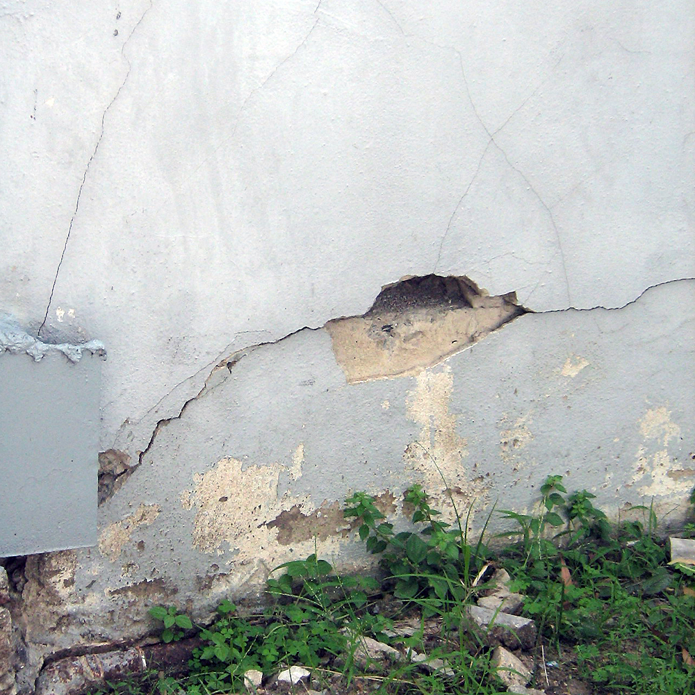 Foundation cracks at a Shell Company Thailand facility