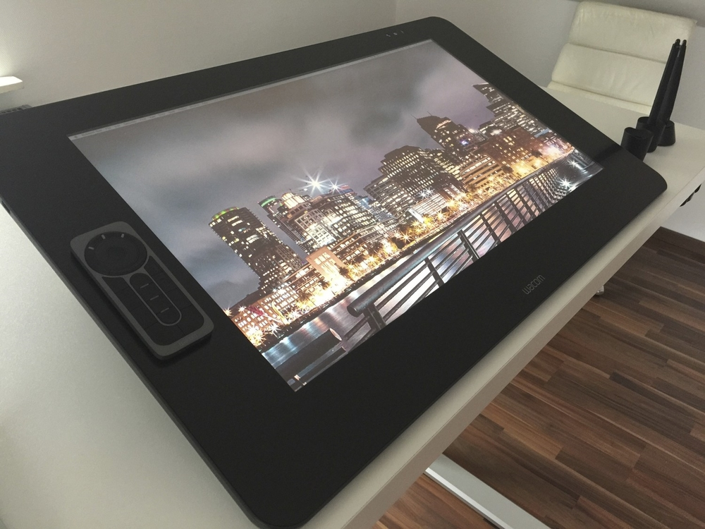 The Wacom Cintiq 27QHD Touch