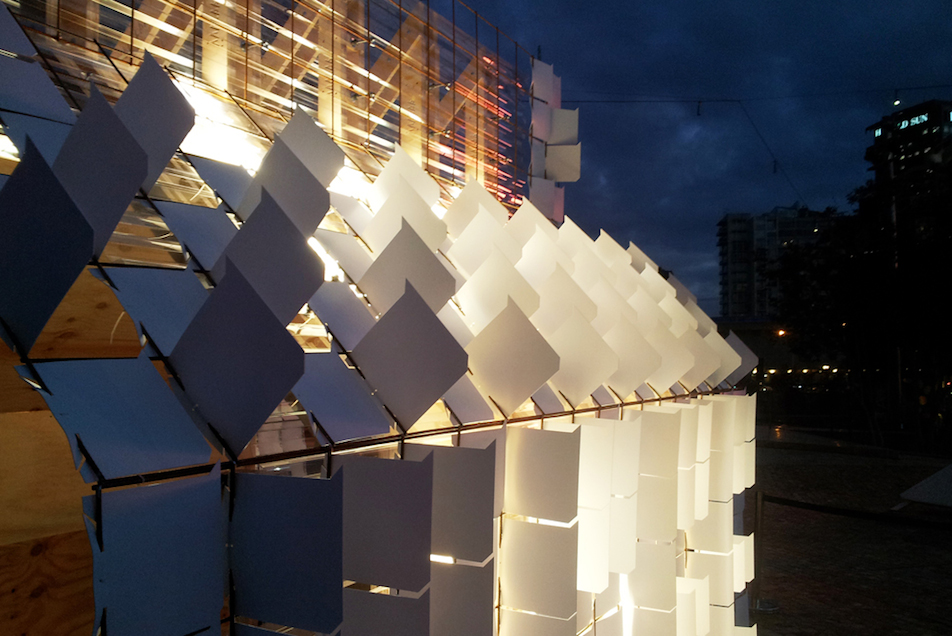 Installation for the Light in Winter Festival, Melbourne.
