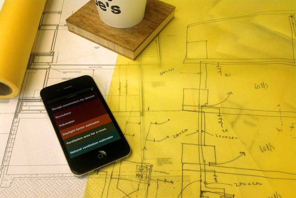 knapkin is a simple app that allows designers to check the performance of spaces inside buildings.