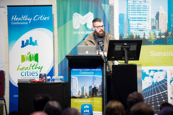 Keynote address at the Liveable Cities Conference in Melbourne on the 'Spaces of Cooperation: the future of urban public space'
