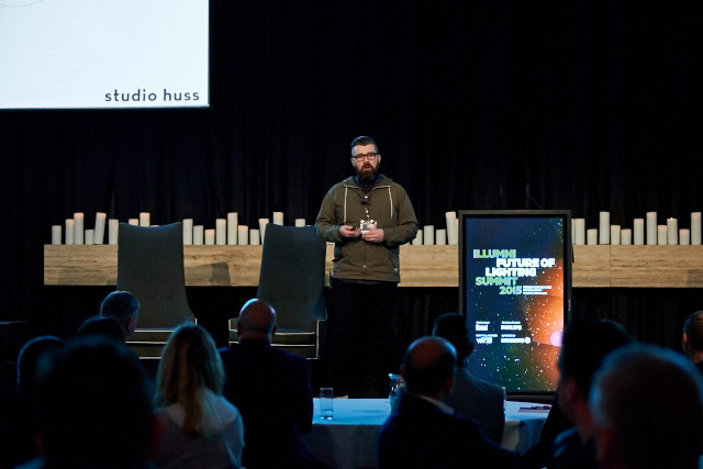 Invited speaker at the Future of Light, part of Sydney's Vivid Festival