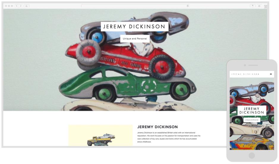 Jeremy Dickinson - Artist