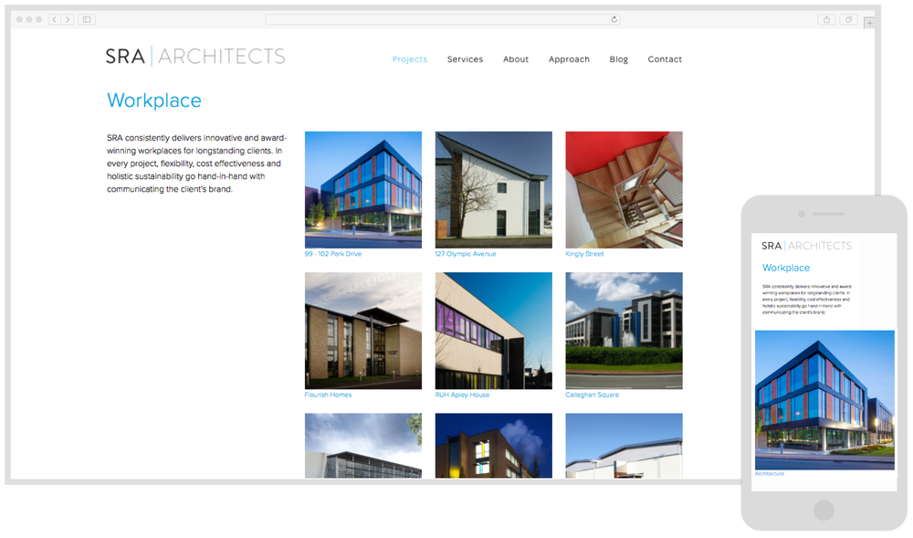 SRA website by Isoblue