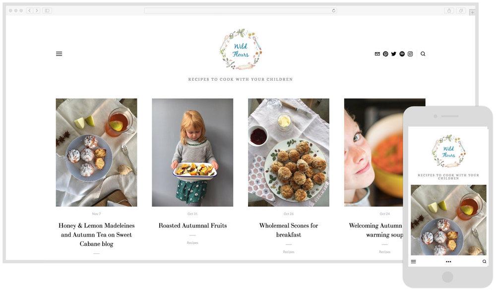 Wild Flours - Food Blog