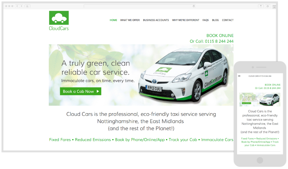 Cloud Cars - Eco Car Hire