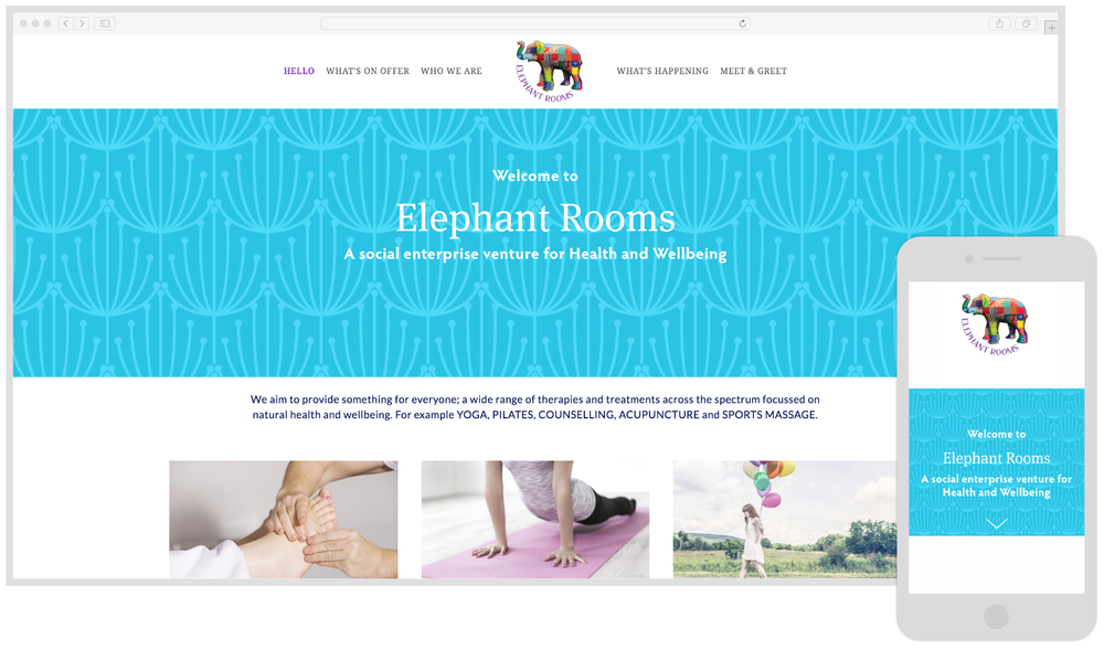 Elephant Rooms - Health & Wellbeing
