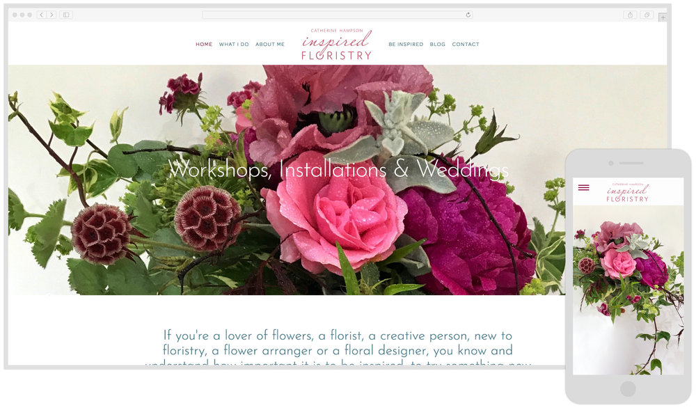 Inspired Floristry - Showcase & Online Bookings