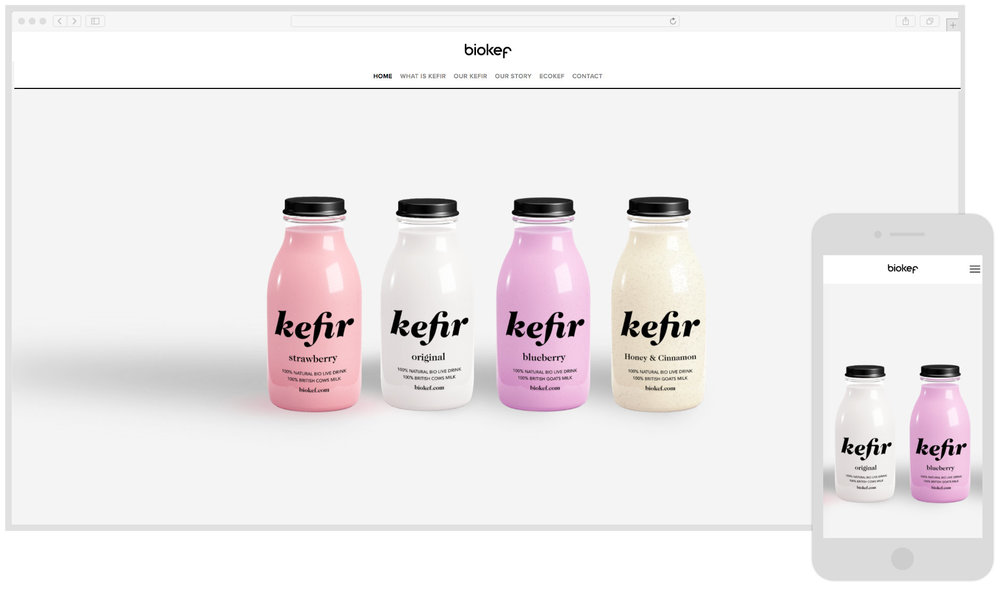 Biokef - British Kefir Drink