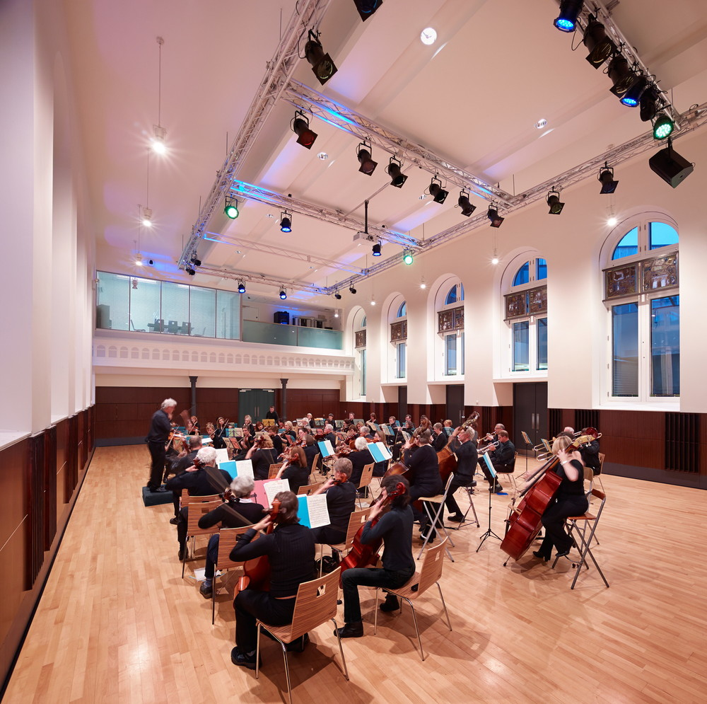 Glasgow Orchestral Society in the Main Hall