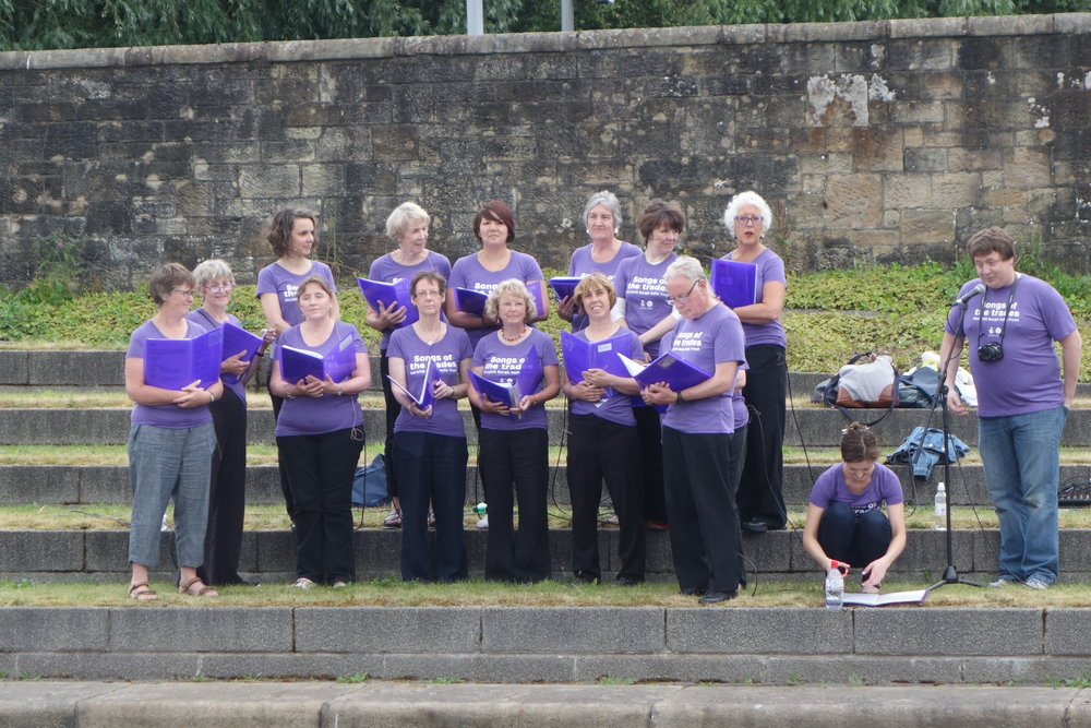 Heritage Choir at the River.JPG
