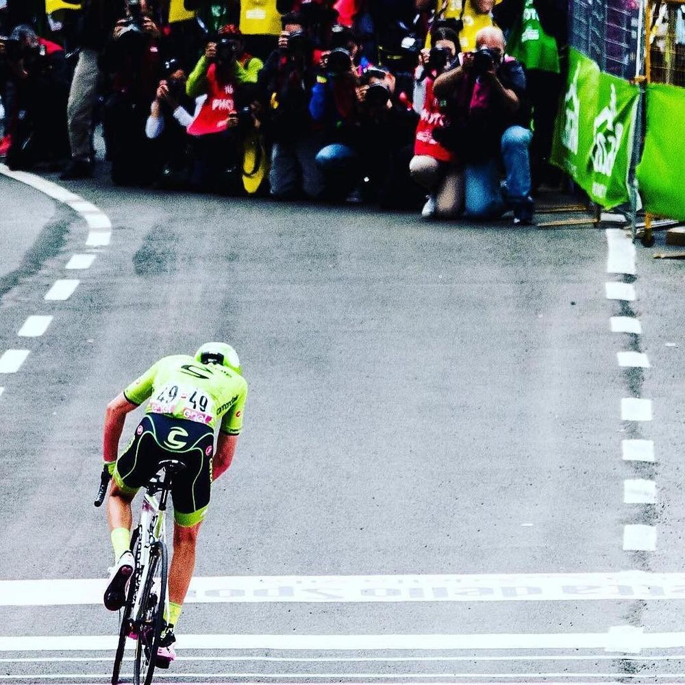 #Repost @natebrown0707 @ridecannondale @cannondalepro This picture says it all. This is from the day I was in the break and ended up 4th. I truly had nothing left in the tank when I crossed the line. http://ift.tt/1WYAriv