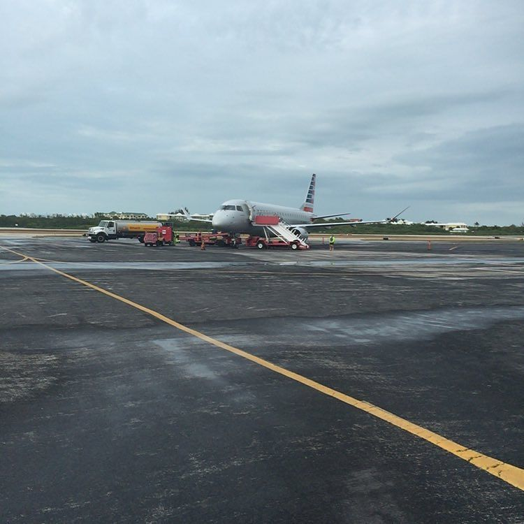 Totally normal to just walk over to the plane right. #travel  http://ift.tt/1RPBwWW