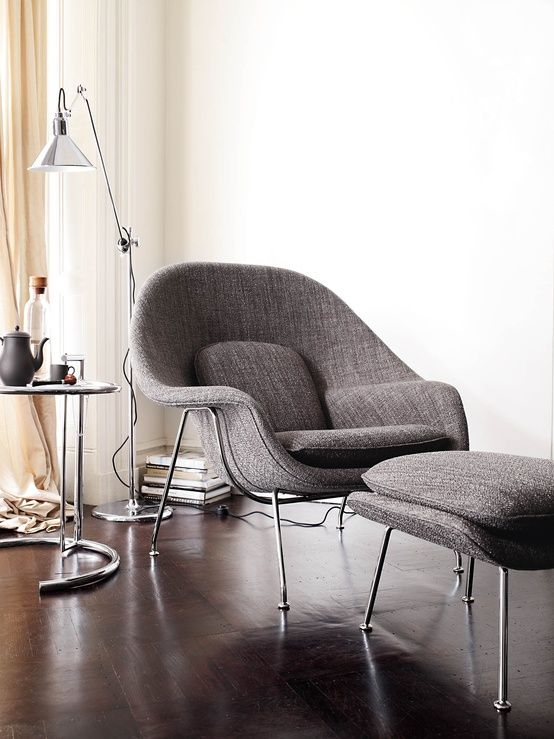 urbnite :      Womb Chair by Eero Saarinen