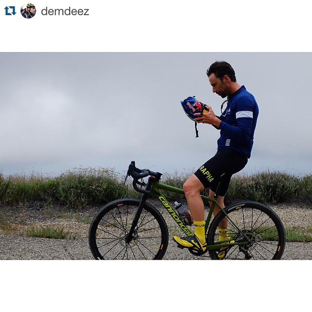 This year has been full of thrills. We ripped #cleanslate around California a few weeks ago, some fog rolling over a dirt climb while Tim breaks in his new bike. #itsnotnofun #cannondale by ridecannondale http://ift.tt/1LdsNt0