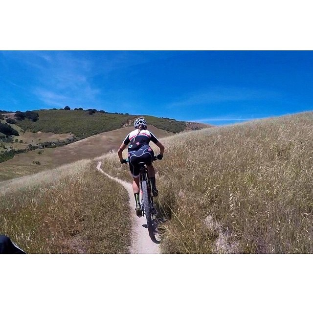 Checking out the Sea Otter course with @kjarchow by castellicycling  http://ift.tt/1ODzLaY