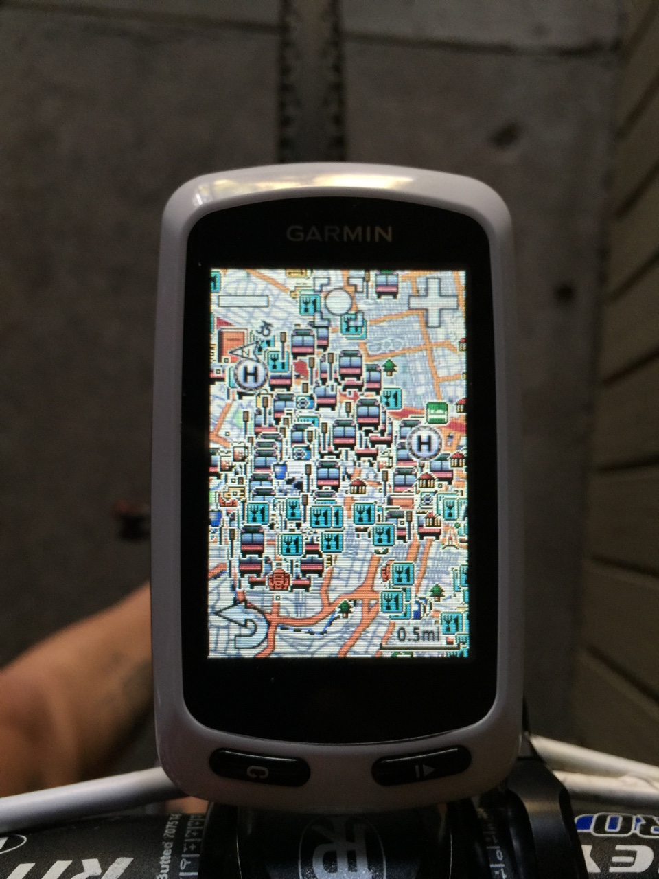 titsandtires :   Thanks Garmin. Super helpful UI.