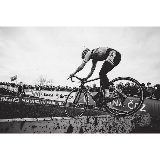 "youcantbuyland :     ""Tom does what Tom does and that's why everybody loves him 👍#TomMeeusen #Tábor #cxworlds #cyclocross #Czechrepublic""   instagram.com"