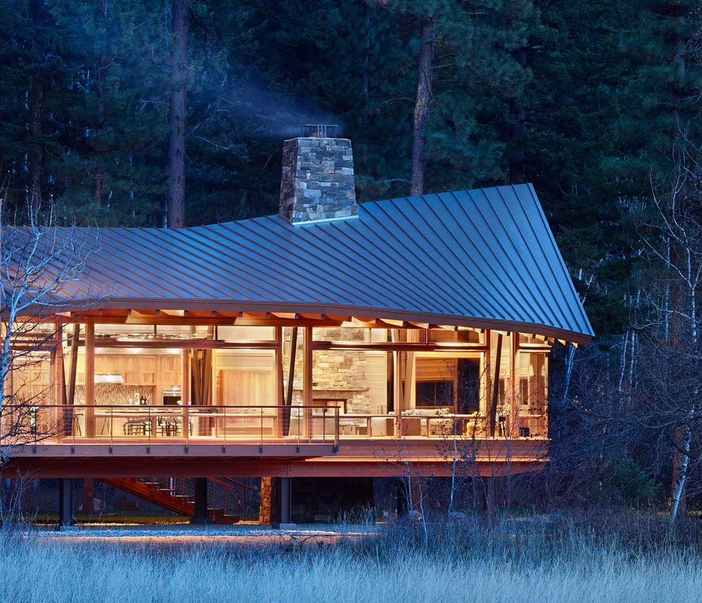 remash :     mazama house | detail  ~ finne architects