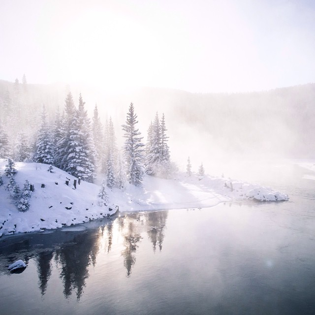 """You know it's cold outside when you go outside and it's cold""   #capturerad #wildernessculture by taylormichaelburk  http://ift.tt/1rR2dJG"