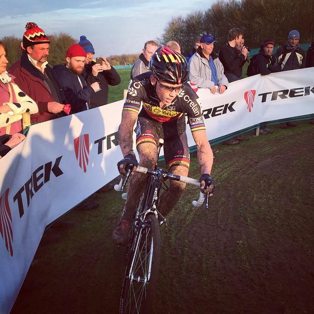 Sven chasing hard. #MKWC #trekbikes #bontrager #NVCT by neonvelocyclingteam  http://ift.tt/1wg3osZ