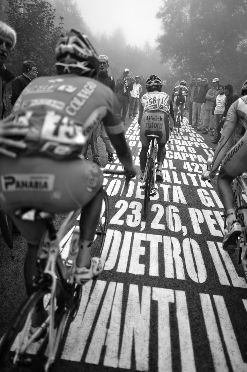 youcantbuyland :      sprintingforsigns :     Il Lombardia by Angelo Giangregorio   I absolutely love Angelo's photo's. For a long time I thought he was a Pro photographer, and frankly his shots are as good as many of those that make their living from it. He lives, loves and breathes cycling, and is genuinely one of lifes good guys. Enjoy this photo stream, it's beautiful, but fills me with guilt that I've not made it to this beautiful race that is Lombardia. Truly stunning stuff, enjoy.                 This weekend, one of the best races closes an incredible season.
