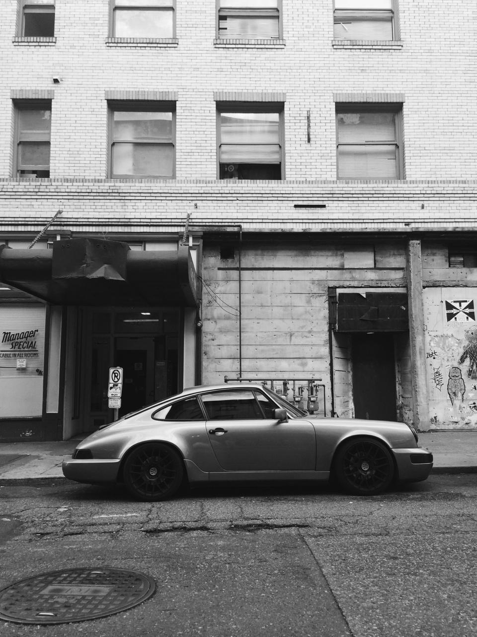 unmodernman :     Grey   Porsche 964 Carrera 4