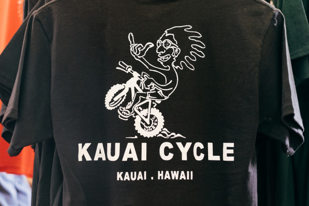 teamdreambicyclingteam :      Kauai Cycle    That's a good looking t-shirt!   Not much traveling happening as of late so its always nice to  live vivariously through the eyes of The Radavist(s).  I hope John remembers my size…? ;)