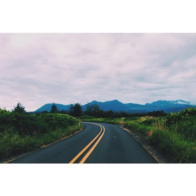 leaveitontheroad :     Coastal Oregon farm roads are among my favorite in the whole damn state. #roadslikethese (at Nehalem, Oregon)