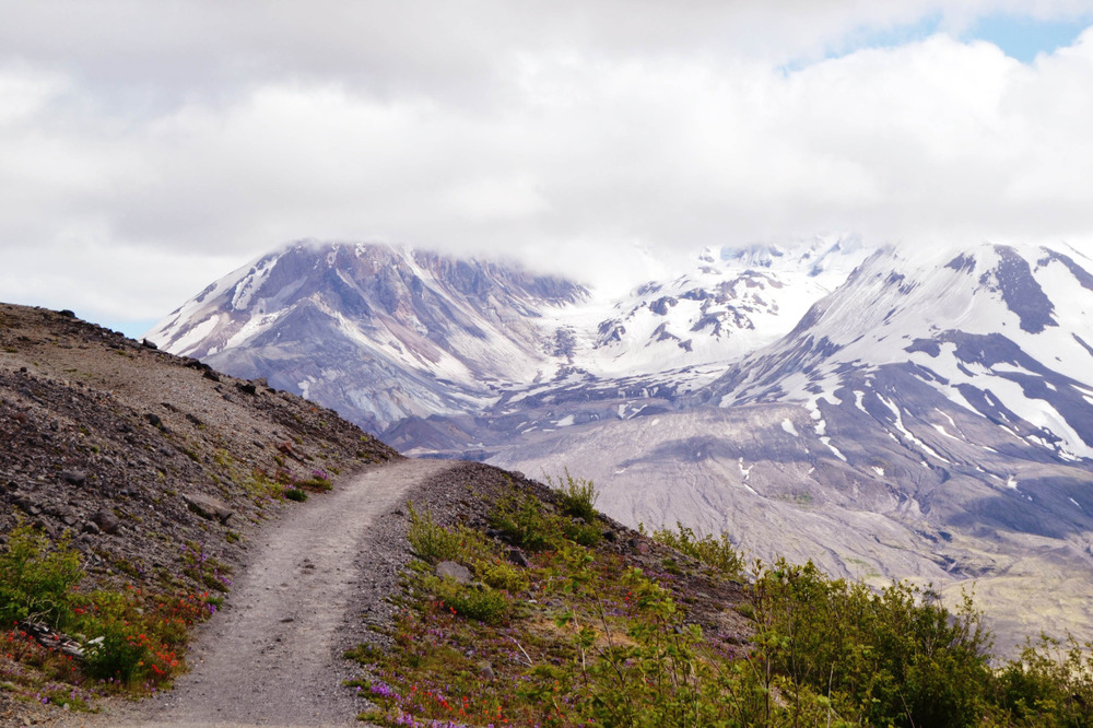 beartreadway :      Into the Mountain , Mt St Helens