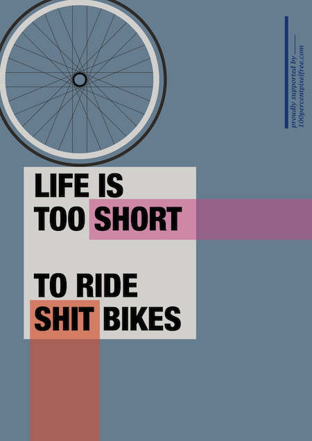 visualgraphic :      Life is too short    by  100 Percent Pixel Free
