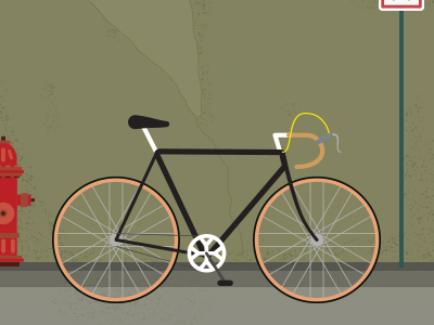 (via  Dribbble - Bike by Aaron Robbs )