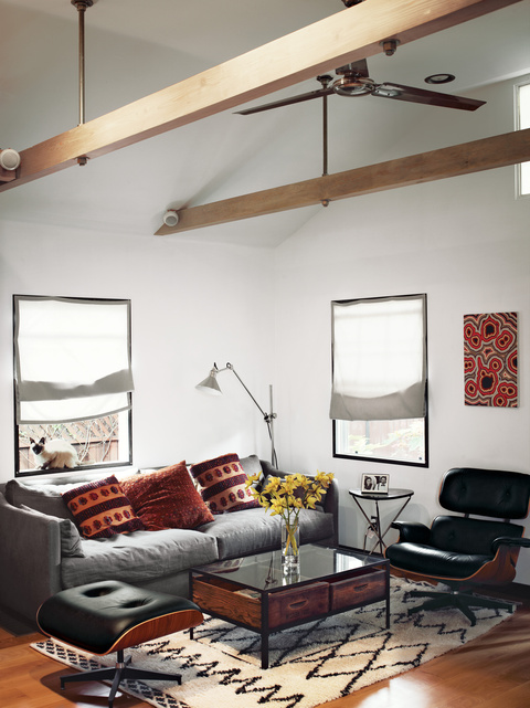 (via  The Tiny Hollywood Home of Mad Men's Vincent Kartheiser | Dwell )